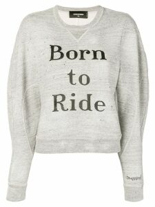 Dsquared2 Born to Ride sweatshirt - Grey