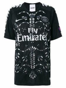 Koché crystal embellished branded T-shirt - Black