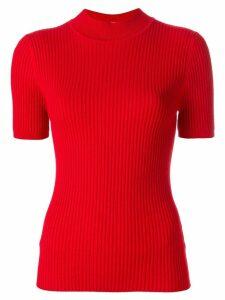 Harmony Paris ribbed T-shirt - Red