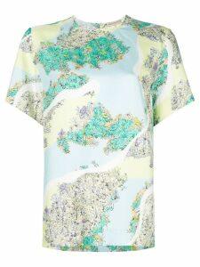 Emilio Pucci shortsleeved floral T-shirt - Multicolour