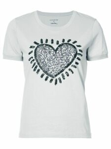 Coach X Keith Haring embellished T-shirt - Medium Grey