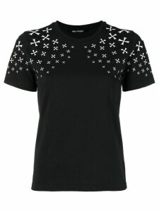 Neil Barrett Military Star print T-shirt - Black