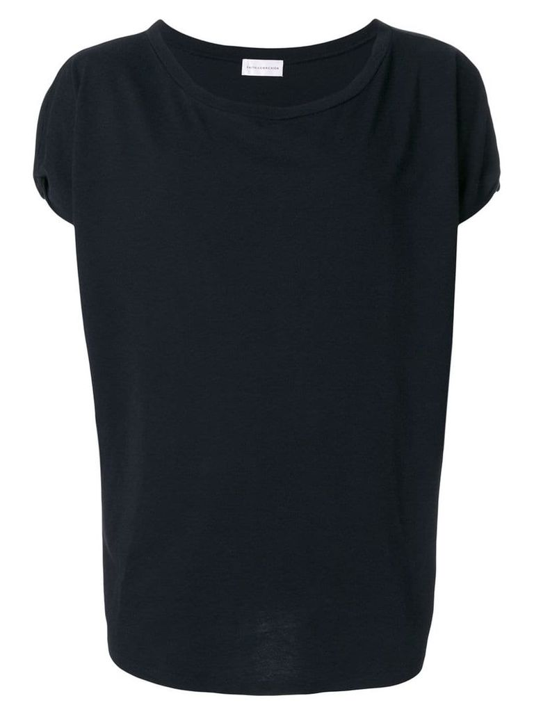 Faith Connexion scoop neck T-shirt - Black