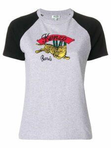 Kenzo Tiger logo T-shirt - Grey