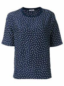 P.A.R.O.S.H. Sispot pois print T-shirt - Blue