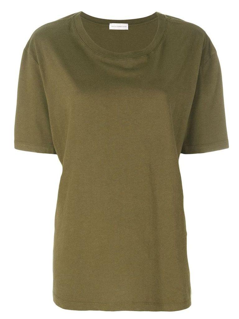 Faith Connexion oversized T-shirt - Green
