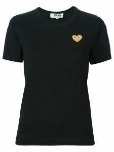 Comme Des Garçons Play 'Gold Heart' T-shirt - Black