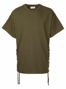 Faith Connexion laced T-shirt - Green