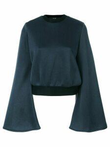 Ellery flared sleeve top - Blue