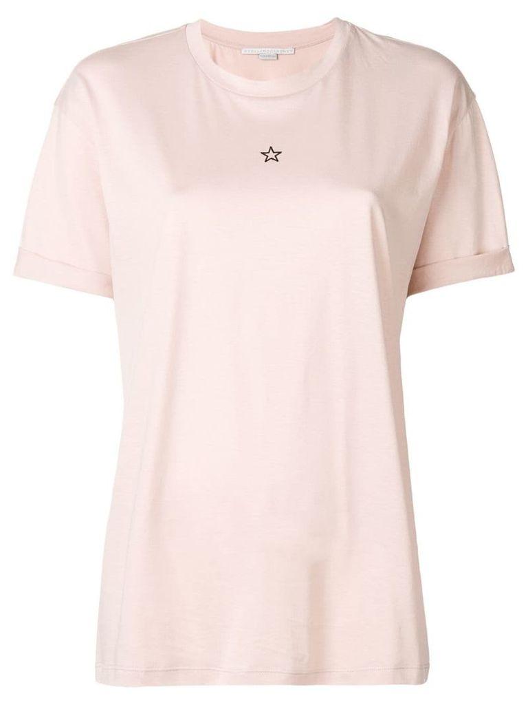 Stella McCartney star print T-shirt - Pink