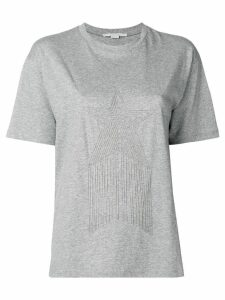 Stella McCartney embellished star T-shirt - Grey