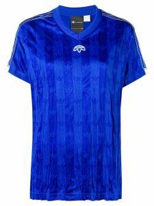 Adidas Originals By Alexander Wang V-neck jersey - Blue