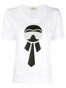 Fendi Karlito T-shirt - White