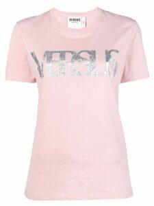 Versus front logo T-shirt - Pink