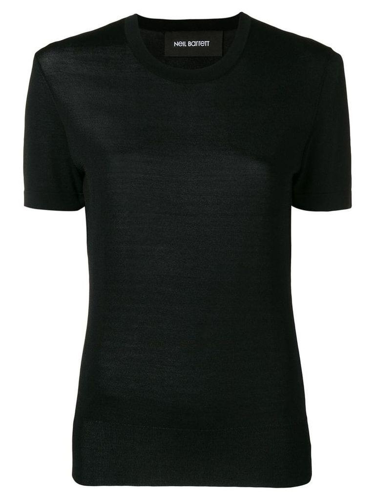 Neil Barrett crew neck T-shirt - Black