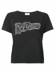 Re/Done RE/DONE Doll graphic Tee - Black