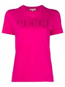 Emilio Pucci short sleeve T-shirt - Pink