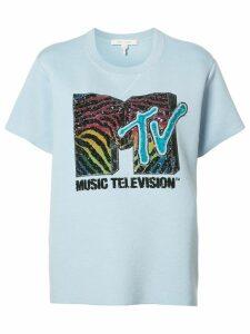 Marc Jacobs MTV branded T-shirt - Blue
