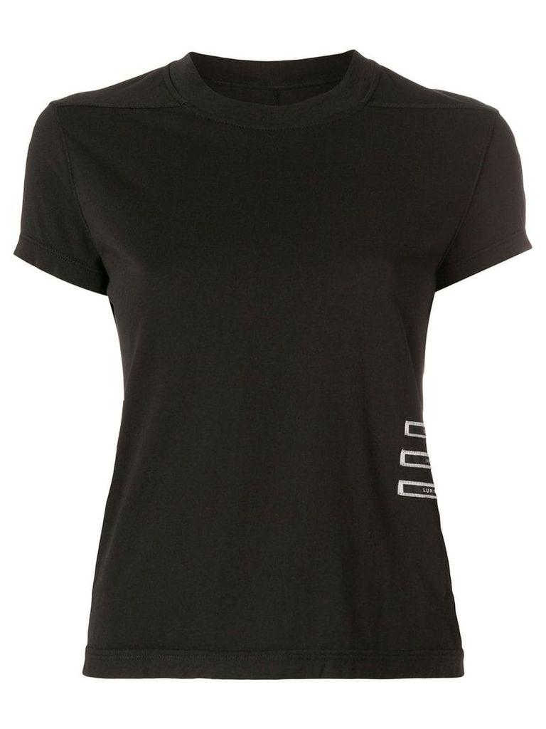 Rick Owens DRKSHDW human patches T-shirt - Black