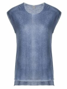 Eleventy round neck T-shirt - Blue