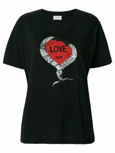 Saint Laurent Love 1974 T-shirt - Black