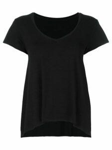 Styland U-neck T-shirt - Black