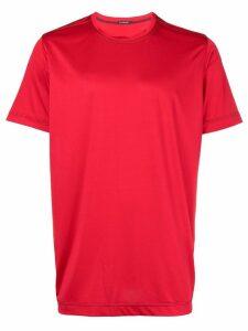 À La Garçonne side stripe T-shirt - Red