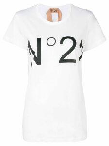 Nº21 logo T-shirt - White