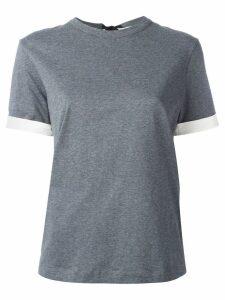 Marni open back T-shirt - Grey