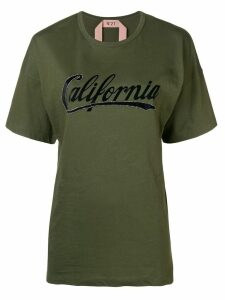 Nº21 California short-sleeve T-shirt - Green