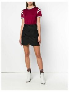 T By Alexander Wang paneled T-shirt - Red