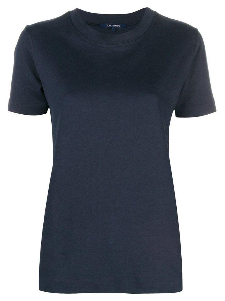 Sofie D'hoore classic plain T-shirt - Blue