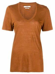 Isabel Marant Étoile Kranger T-shirt - Brown