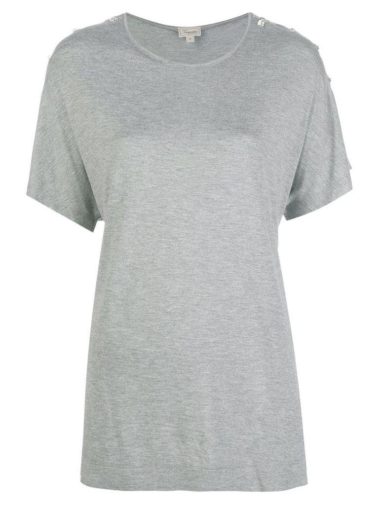 Temperley London Vita jersey T-shirt - Grey