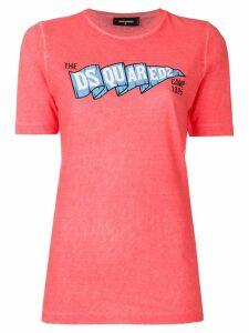 Dsquared2 logo printed T-shirt - Pink