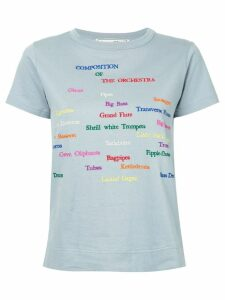 Tu es mon TRÉSOR The orchestra T-shirt - Blue