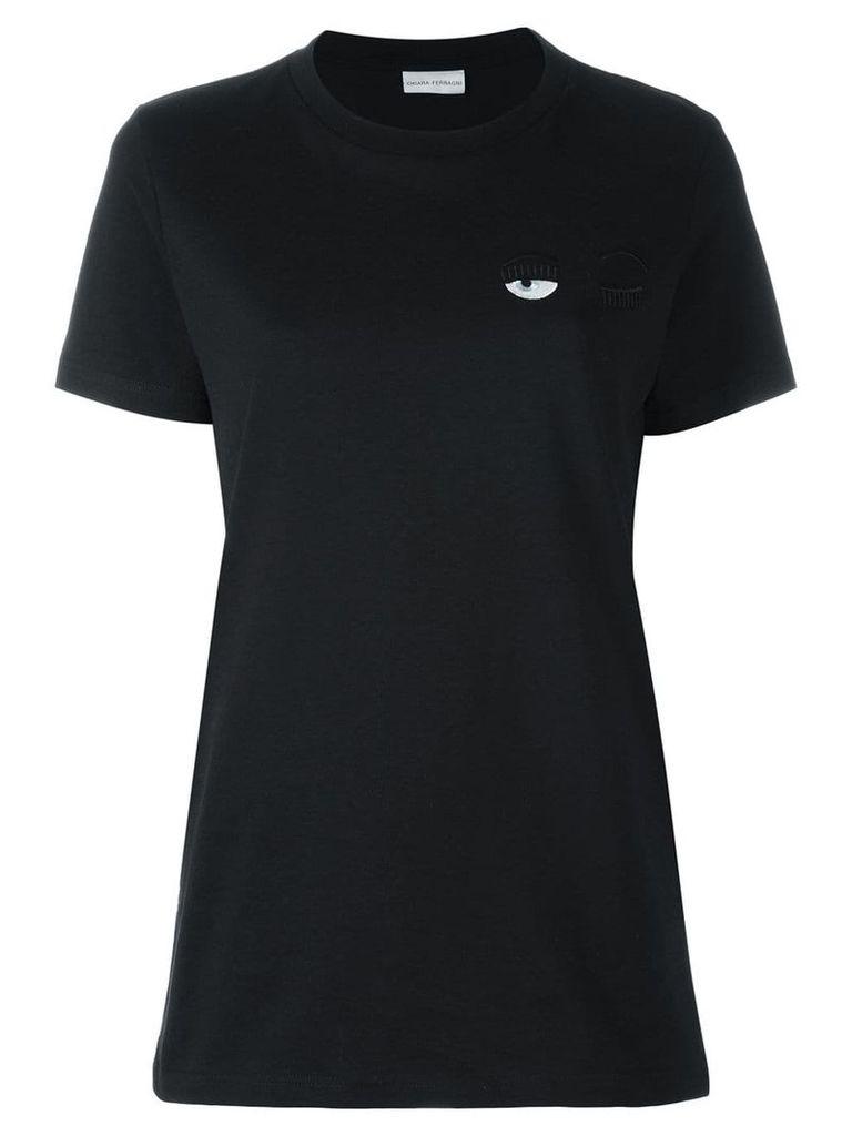 Chiara Ferragni Winking Eye T-shirt - Black