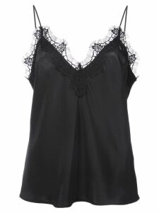 Fleur Du Mal lace trim cami top - Black
