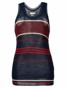 Isabel Marant Étoile striped knitted vest top - Blue