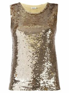 P.A.R.O.S.H. sequin top - Metallic