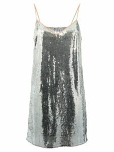 Marco De Vincenzo sequined top - Metallic