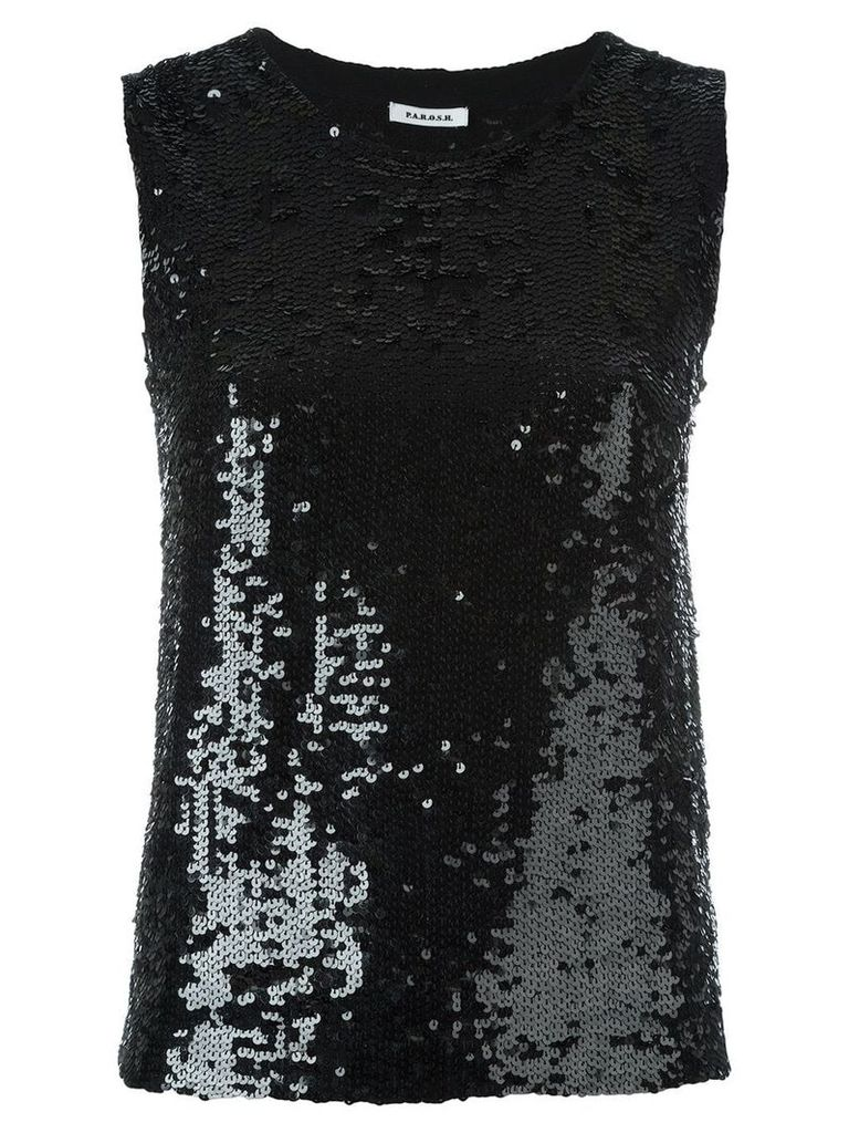 P.A.R.O.S.H. 'Gausha' top - Black