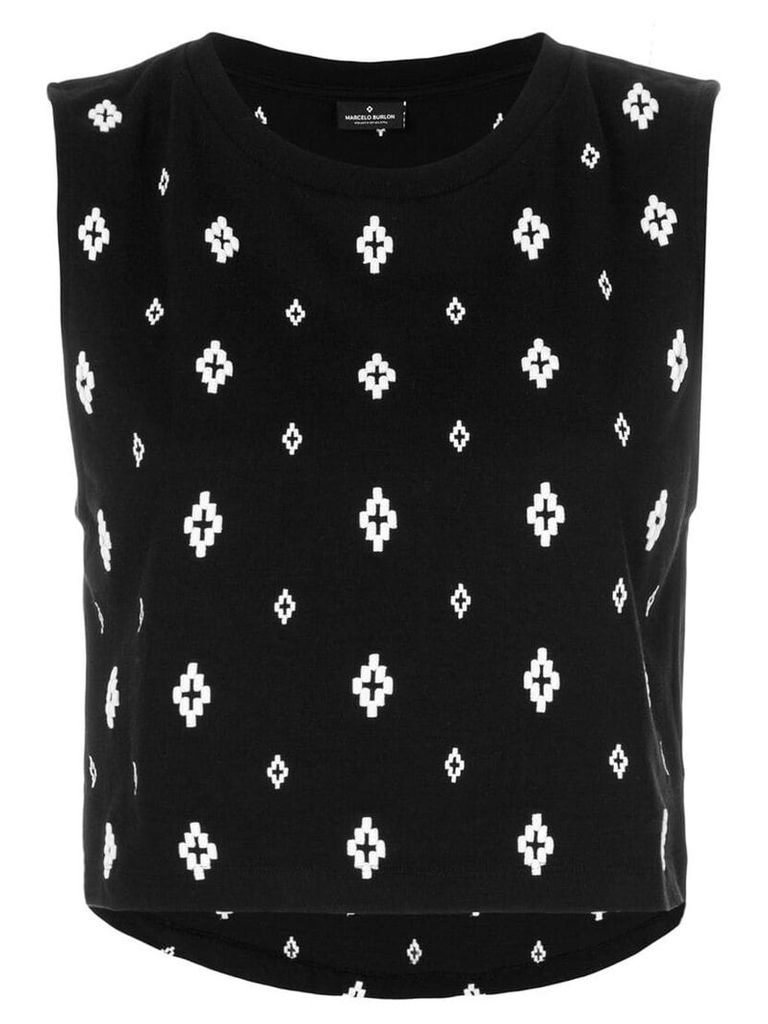 Marcelo Burlon County Of Milan Cross tank top - Black