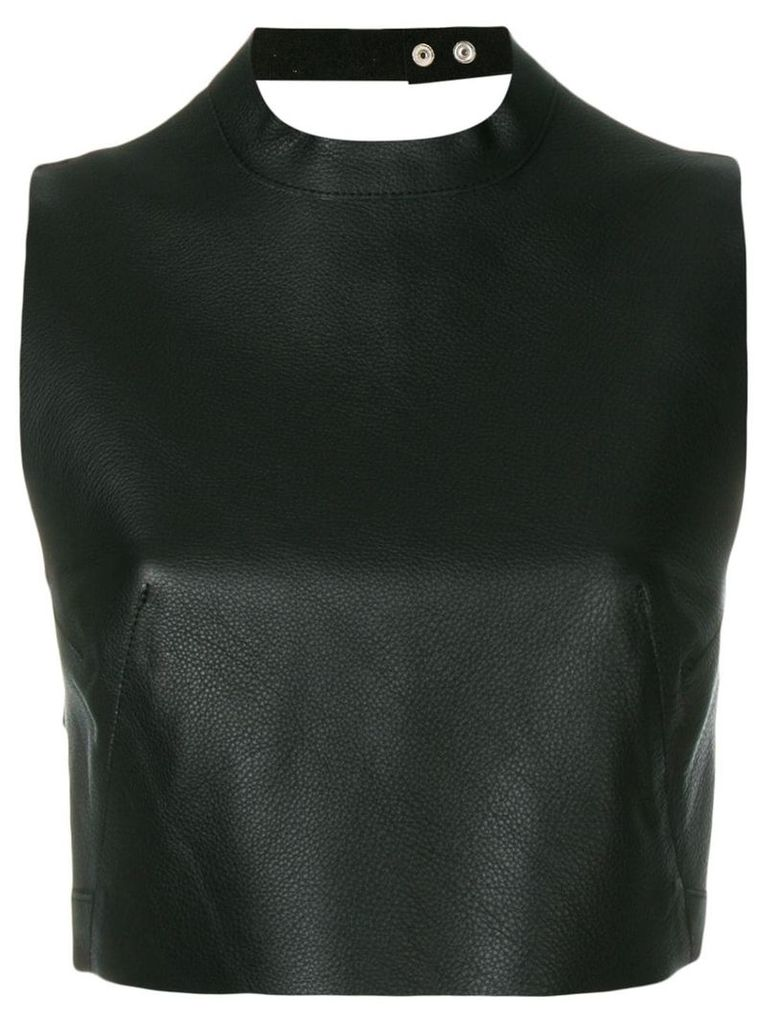 Manokhi criss cross back tank top - Black