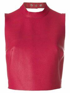 Manokhi open shoulder top - Pink