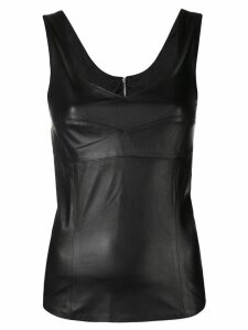 Manokhi fitted tank top - Black