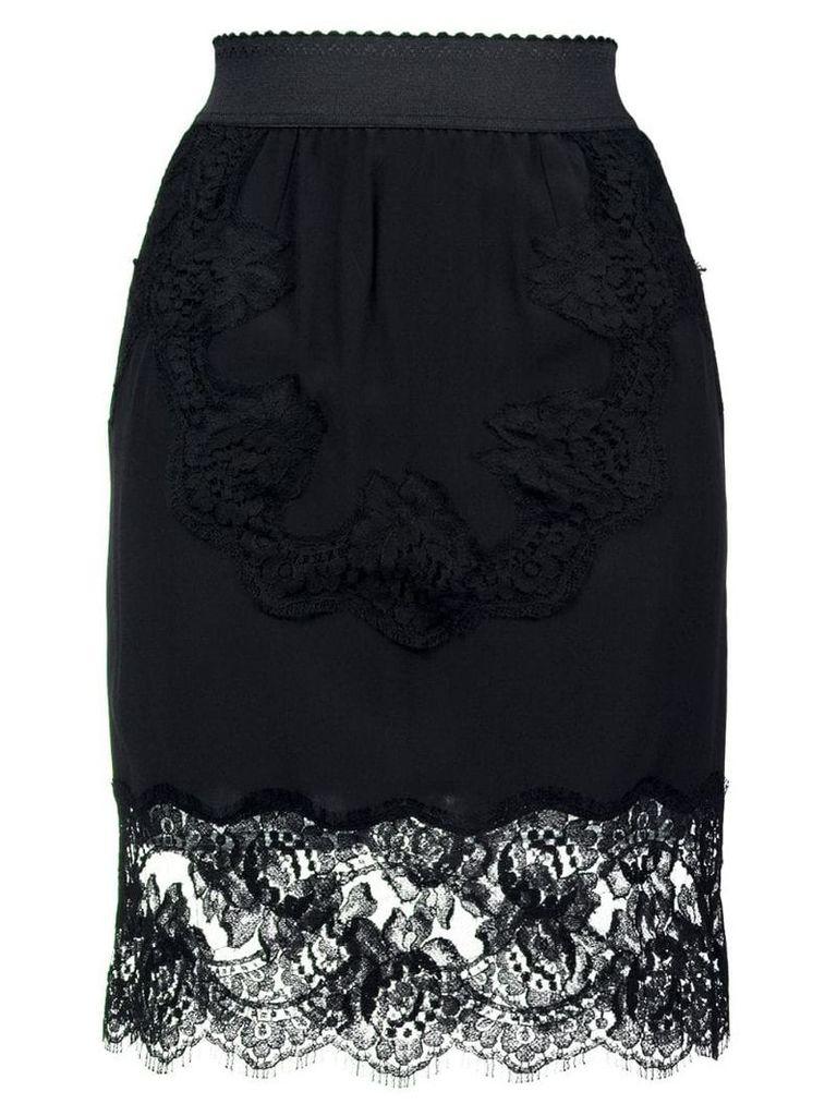 Dolce & Gabbana Lingerie skirt - Black