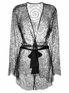 Gilda & Pearl Evelyn Kimono - Black