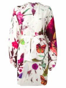 Gilda & Pearl 'Timorous Beasties' kimono - White