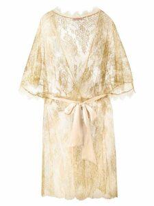 Gilda & Pearl 'Harlow' kimono gown - Yellow